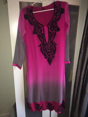 Indian Pink Kaftan Dress for Sale in Alexandria, VA