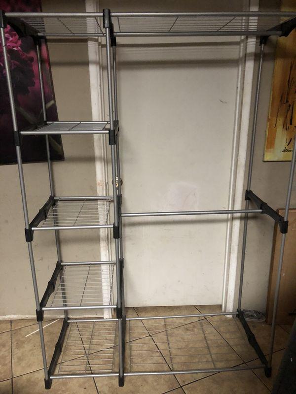 Aluminium cloth rack