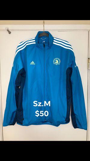 Adidas Boston Marathon Parley Celebrity F/Z jacket (sz.M) for Sale in Chula Vista, CA