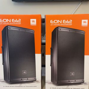 "JBL EON 612 1,000-Watt Powered 12"" Two-Way Loudspeaker System whit bluetooth control for Sale in Duluth, GA"