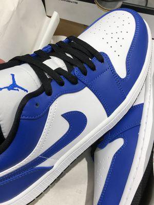Air Jordan 1 low blue for Sale in Houston, TX