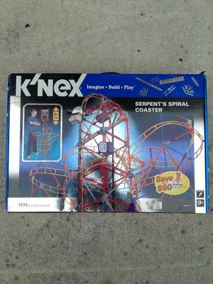K'Nex Serpent's Spiral Coaster for Sale in Miami, FL