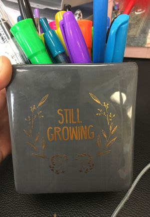 Used as a pen holder but can be used as plant pot for Sale in Lexington, SC