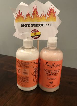 Shea Moisture Shampoo and Conditioner for Sale in Hyattsville, MD