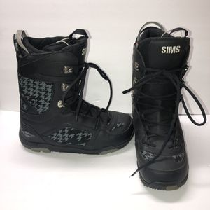 SIMS OMEN SNOW BOARDING BOOTS SIZE 12 LIKE NEW BLACK for Sale in Covina, CA
