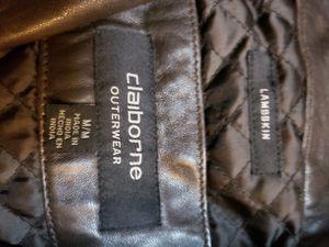Mens M Claiborne lambskin leather Jacket for Sale in Phoenix, AZ