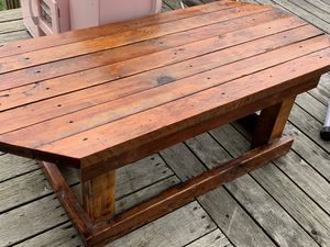 Pine coffee table for Sale in Stanwood, WA