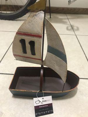 Decorative metal boat for Sale in Lincoln, NE