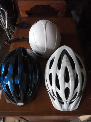 Bike helmets 3 for $14 for Sale in North Chesterfield, VA