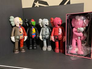 Selling my 4 Kaws Kaws take is not included and not for sale selling all 4 for $500 cash for Sale in Burbank, CA