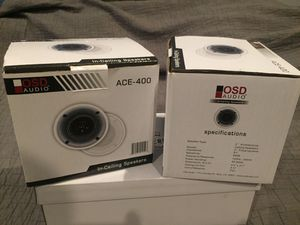 OSD Audio ACE-400 set of 4 for Sale in Los Angeles, CA