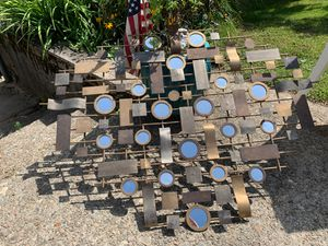 Metal and mirror wall art for Sale in Wakefield, RI