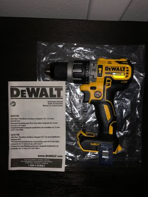 Dewalt DCD796 XR Drill/Driver/Hammerdrill for Sale in Ocoee, FL