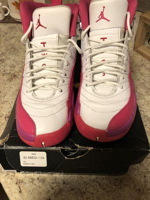 Valentine's Day Jordan 12s size 5.5 (gs) for Sale in Woodbridge Township, NJ