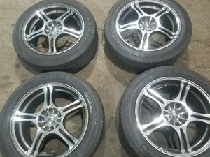 """Rims 17""""s 5 lugs universal for Sale in Chicago, IL"""