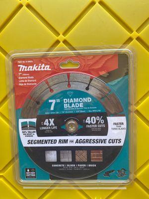 "Makita 7"" Diamond Blade for Sale in Lathrop, CA"
