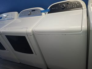 WHIRLPOOL TOP LOAD WASHER AND DRYER SET IN EXCELLENT CONDITION for Sale in Halethorpe, MD