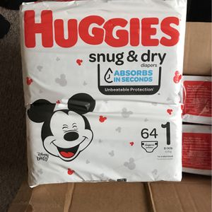 Huggies Size 1 for Sale in Columbus, OH