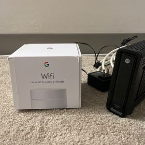 Wifi Modem + Router Combo To Save 10$/month for Sale in Hartford, CT
