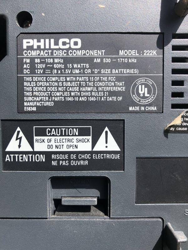 PHILCO model 222K