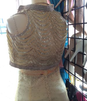 Yellow and Gold Glitter Dress Set for Sale in Columbus, OH