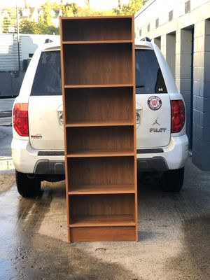 Very tall bookshelf solid wood made in Denmark for Sale in Alexandria, VA