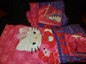 Hello kitty twin bedding set for Sale in South Gate, CA