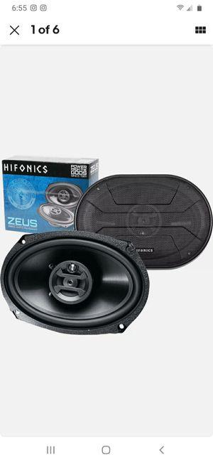 hifonics zeus 6x9 for Sale in Waterbury, CT