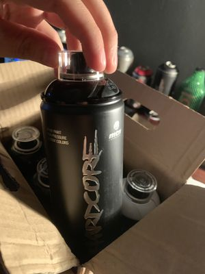 HARDCORE Spray Can Set for Sale in Chicago, IL