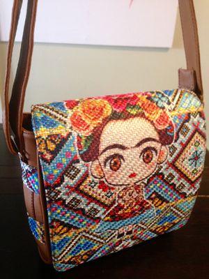 Frida Crossbody / Mini Messenger Bag / Purse for Sale in Downey, CA