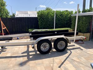 2014 Real X Aluminum Boat Trailer for Sale in Hialeah, FL