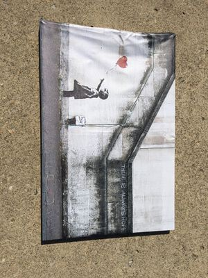 Banksy Reproduction Canvas for Sale in Columbus, OH