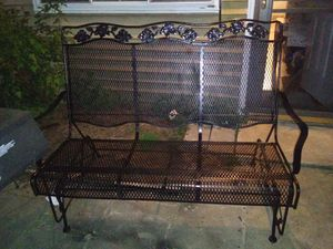 GLIDDER BENCH FOR 3 PEOPLE LIKE NEW NO RUSH for Sale in Silver Spring, MD