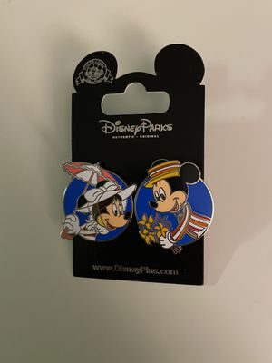 Mickey & Minnie Pin for Sale in Las Vegas, NV