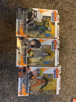 Naruto shippuden figures for Sale in Surprise, AZ