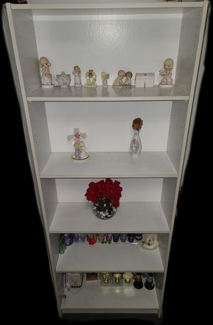 Tall Ikea bookcase with 5 adjustable shelves for Sale in Fulton, MD