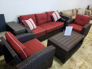Brand New Patio Furniture Sofa and two chairs and table tax included and free delivery for Sale in Hayward, CA
