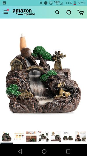 Incense Waterfall Burner for Sale in Hebron, IL