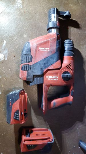 Hilti drill and vac kit for Sale in Pearl City, HI