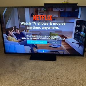"""60"""" Visio Smart Tv With Bose Speaker N Lights At The Back Including All Remotes for Sale in Potomac, MD"""