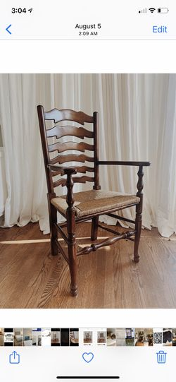 French Oak Ladderback chairs - Set Of 8 for Sale in Los Angeles,  CA