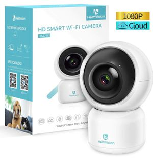 Security Camera, 1080P WiFi Home Indoor Camera with Smart Night Vision/2 Way Audio/Motion Detection, Wireless IP Dog Camera for Baby/Pet/Nanny Monito for Sale in Upland, CA