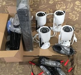 4 Security cameras System- Hablo Espanol for Sale in Lewisville,  TX
