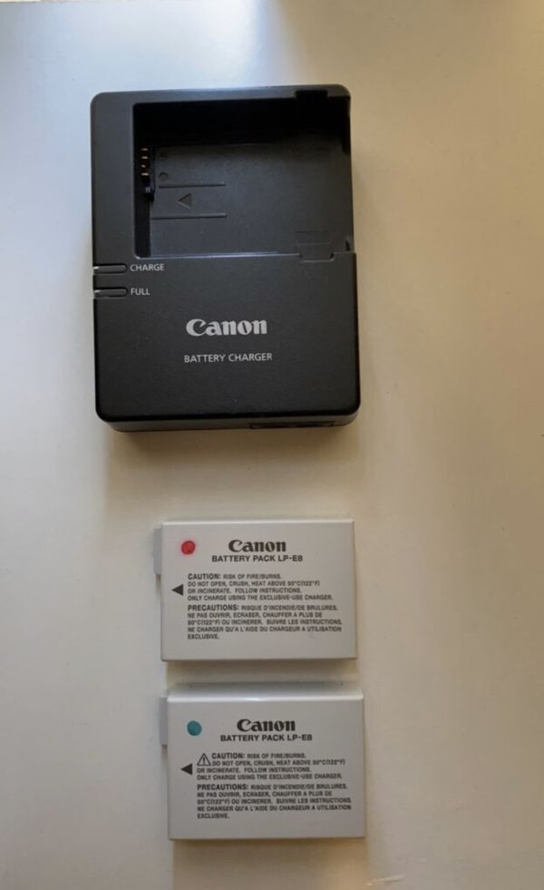 Canon Rebel T5i with accessories