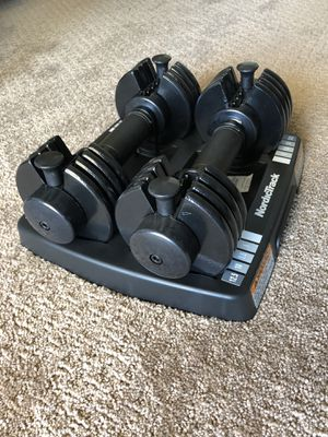 Nordic Track Adjustable 25 lbs Dumbbells (2x 12.5lb) for Sale in Los Angeles, CA