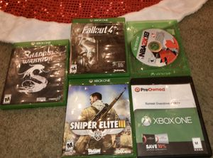 Xbox one games! for Sale in San Antonio, TX