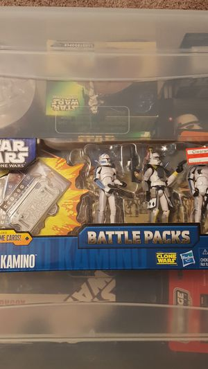 Star wars defend kamino Battle Pack for Sale in San Antonio, TX