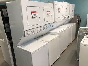 """24"""" or 27"""" Stackable washer and dryer 90 days warranty for Sale in Garrison, MD"""