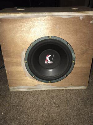 Kicker speaker for Sale in Tupelo, MS