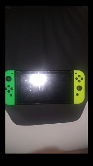 Nintendo switch with pro controller and 10 games for Sale in Houston, TX